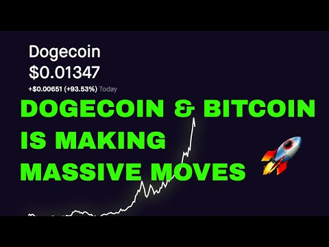 DOGECOIN & BITCOIN MAKING MASSIVE GAINS! | I SOLD TOO EARLY