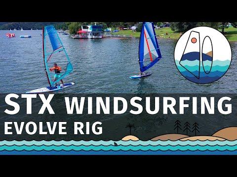 [PADLUJTE.CZ] Nafukovací windsurfing STX FREERIDE 250 + skládací plachta STX EVOLVE