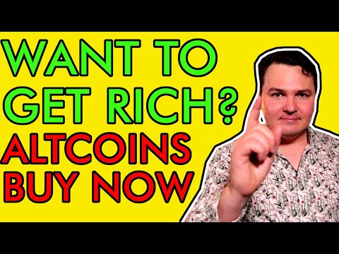 WANT TO GET RICH? BUY CRYPTO ALTCOINS NOW! LAST CHANCE FOR LIFE CHANGING CRYPTO WEALTH!