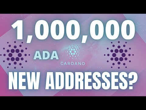 INCREASING CARDANO (ADA) WALLETS TO A MILLION MEANS BULLISH!!! Cryptocurrency Analysis 2021