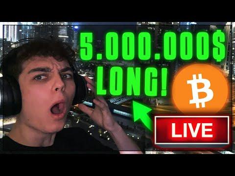 OMG!!! WAS PASSIERT MIT BITCOIN… 5.000.000$ BITCOIN LONG!