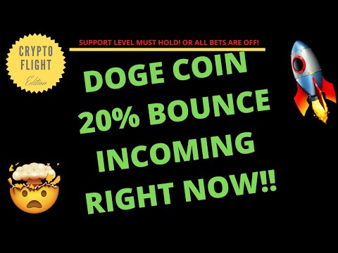 DOGECOIN (DOGE) 20% BOUNCE INCOMING RIGHT NOW!! PRICE PREDICTION | TECHNICAL ANALYSIS$
