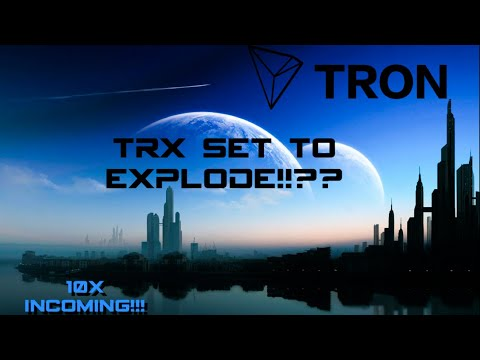 TRON (TRX) GETTING READY TO EXPLODE??!!! 10X GAINS INCOMING?? #TRX