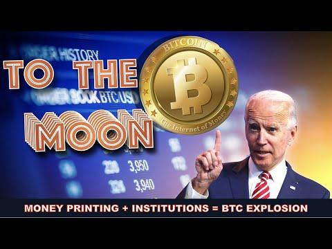 Will Joe Biden PUSH This BITCOIN & CRYPTO BULL RUN TO THE STRATOSPHERE? INSTITUTIONS say YES!