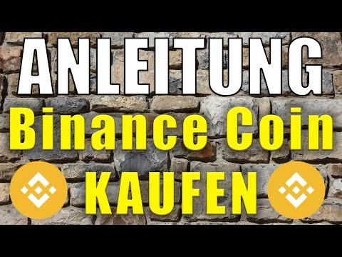 Binance Coin (BNB) kaufen ANLEITUNG ✔️ Günstig & seriös investieren für Anfänger Tutorial [deutsch]