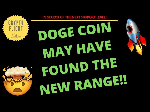 DOGE COIN (DOGE) MAY HAVE FOUND THE NEW RANGE!! PRICE PREDICTION | THECHNICAL ANALYSIS$