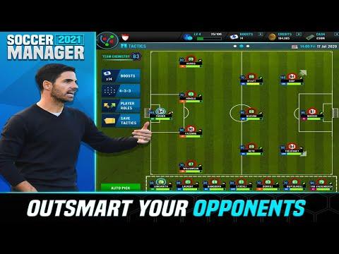 Soccer Manager 2021 – Darmowy piłkarski menadżer ze Steam