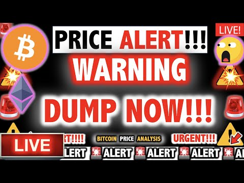 THIS DUMP CHANGES EVERYTHING FOR BITCOIN!! ⚠️Crypto Today BTC Ethereum Cryptocurrency Price News Now