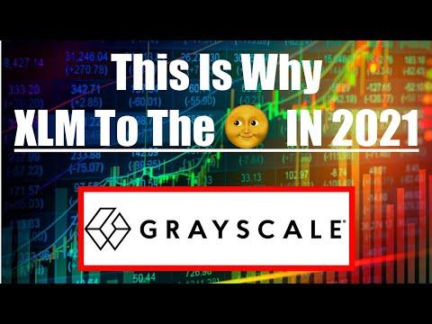 What Grayscale Just Did With XLM Stellar Might MOON XLM Stellar Lumens 🌙 🌚 🌝