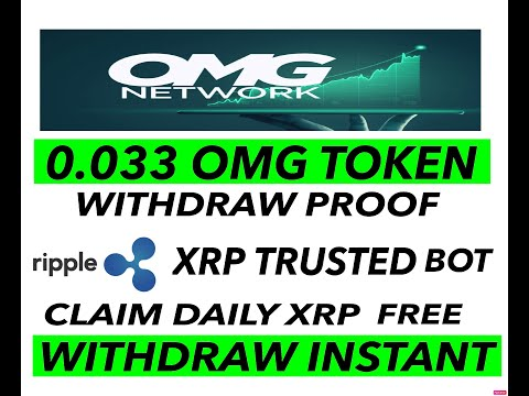 NEW XRP TRUSED BOT/CLAIM DAILY FOR FREE XRP /0.033 OMG COIN WITHDRAW PROOF/INSTANT WITHDRAW COINBASE