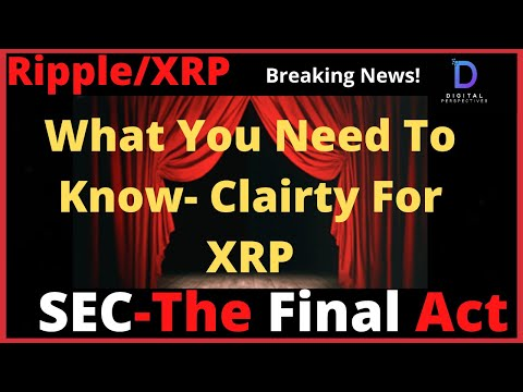 Ripple/XRP-SEC The Final Act,Breaking-Ripple Partner News,Crypto Co. iPOs,BIS X-Border Prioirity