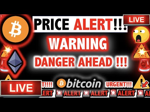 THIS IS A DANGEROUS SIGNAL FOR BITCOIN & ETHEREUM! ⚠️Crypto Today/ BTC Cryptocurrency Price News Now
