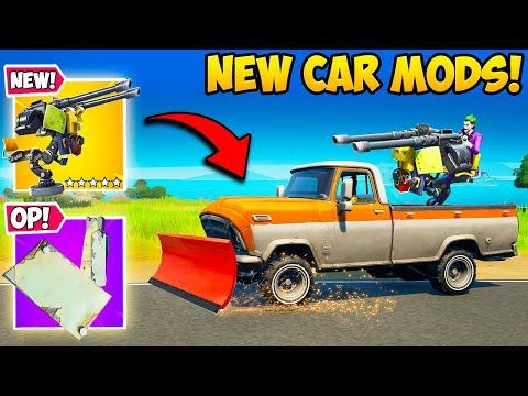 *NEW* MOUNTED GUNS AND CAR MODS!! – Fortnite Funny Fails and WTF Moments! #1162