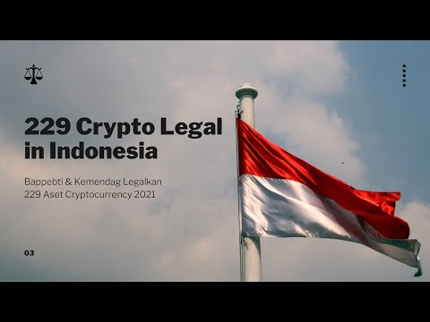 [BIG NEWS] Crypto Legal in Indonesia 2021