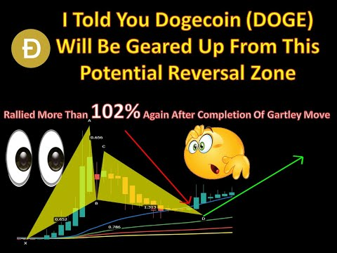I Told You Dogecoin (DOGE) Will Be Geared Up From This Potential Reversal Zone