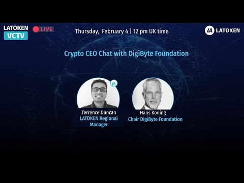 Crypto CEO Chat with DigiByte Foundation