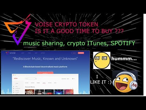 $VOISE VOISE Crypto Music Streaming review SHOULD I INVEST? charts + news are great