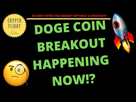 IS DOGE COIN (DOGE) BREAKING OUT RIGHT NOW!? | PRICE PREDICTION | TECHNICAL ANALYSIS$