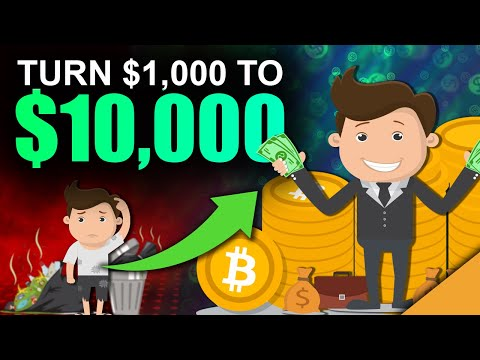 Best Way To Turn $1k into $10k with Crypto