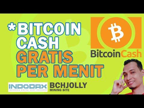 Review Cara Mining Bitcoin Cash Gratis di BCHJOLLY Pakai Indodax