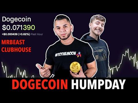 DogeCoin Live Stream! DogeCoin Wednesday Mrbeast ClubHouse