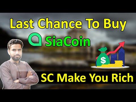SiaCoin (SC) Price Prediction | Can SiaCoin Make You Rich??