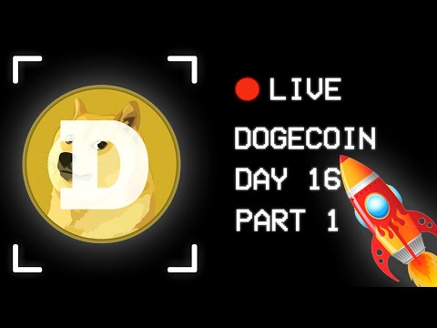 ? Day 16: Dogecoin Live Chat   Come Join – Part 1