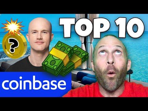 COINBASE UPCOMING ASSETS!!!!! TOP 10 ALTCOINS FOR 2021!!!!! [10x coinbase pump..]