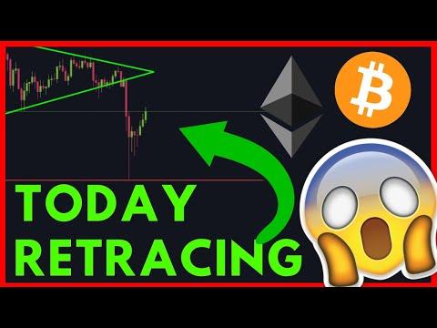 Ethereum & Bitcoin retracing today! IS IT OVER?
