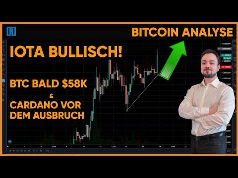 IOTA RENNT LOS! DAS IST PASSIERT! Cardano und Bitcoin im der Chartanalyse
