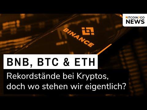 BINANCE COIN (BNB) EXPLOSION, BTC & ETH Rekorde und die GEFAHREN