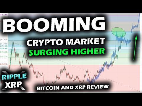 WILD TIMES IN CRYPTO as Bitcoin KEEPS SURGING While XRP Price Chart Holds Support and Altcoins BOOM