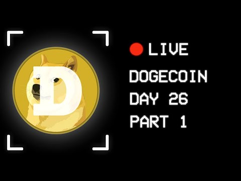 🚀 Day 26: Best Crypto At The Moment | Dogecoin Live Stream