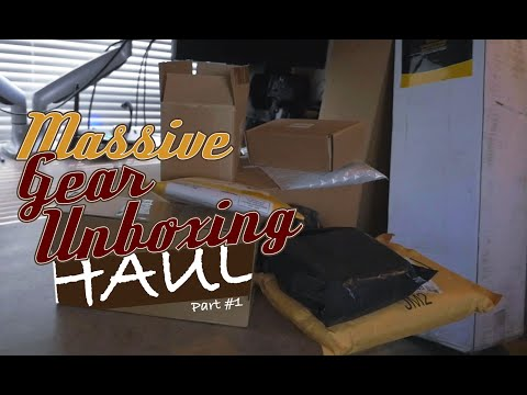 Massive Gear Unboxing Haul Part #1