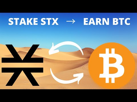 DEFI ON BITCOIN! 🚀🔥How To Stake Stacks $STX and EARN BITCOIN! Blockstack