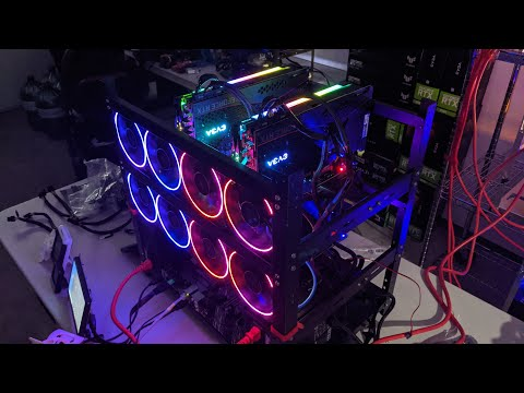 6 X 3080 Step By Step Mining Rig Build LIVE! Part 2