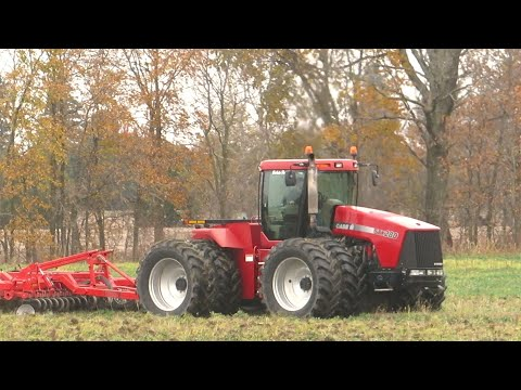 Fall Tillage 2020   Case IH STX 280 Chisel Plowing   Chisel Plowing 2020   Ontario, Canada