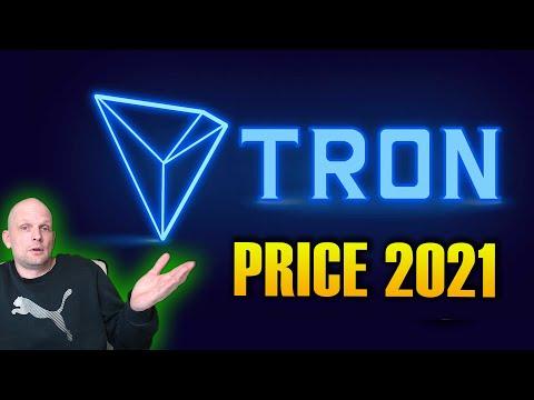 TRON TRX CRYPTOCURRENCY PRICE PREDICTION 2021
