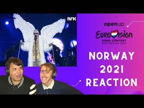 Norway   Eurovision 2021 Reaction   TIX – Fallen Angel  