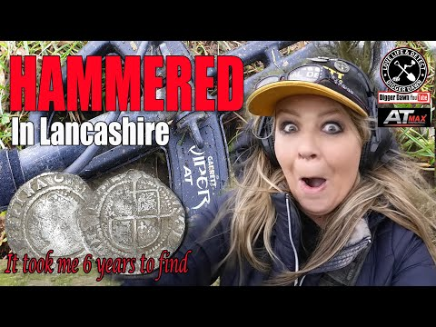 OMG  I finally found a Hammered coin in Lancashire!! I 500 year old silver I Garrett AT Max