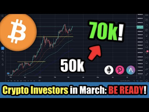 Bitcoin to $70,000 INCOMING! Cryptocurrency Flips Bullish March 2021 | Last Chance to Buy Altcoins?!