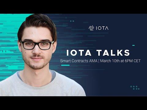 IOTA Talks AMA with Dominik Schiener – March 10th 2021