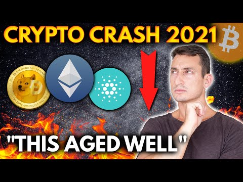 BITCOIN & CRYPTO MARKET CRASH 2021 | Signs I'm Seeing, What's Next?