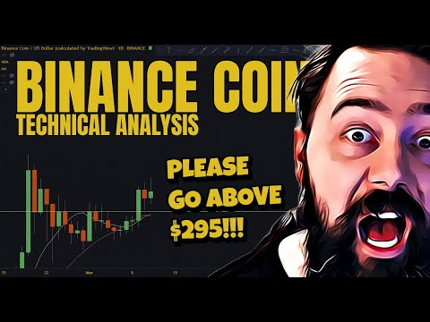 BINANCE COIN NEXT TARGET TO CRUSH IS $295!!! easy peasy…