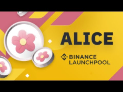 ALICE/USDT Opening On Binance! $ALICE  My Neighbor Alice Token Coin Trade