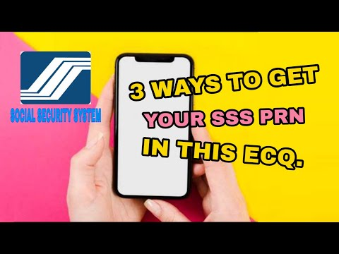 3 EASY WAYS TO GET YOUR SSS PRN THIS ECQ | DARLYN VEGINO