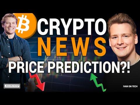 Ivan on Tech & Julian Hosp Crypto Talk: Bitcoin, Ethereum, Altcoins, much much more!!