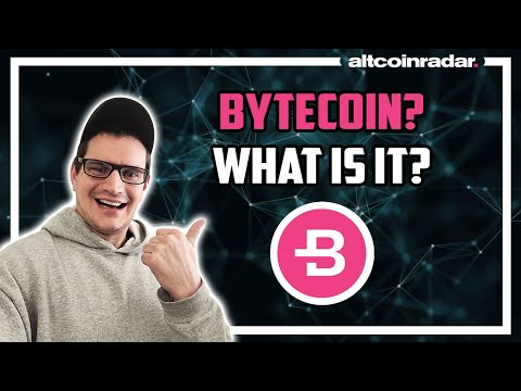 What is Bytecoin? Bytecoin for Absolute Beginners