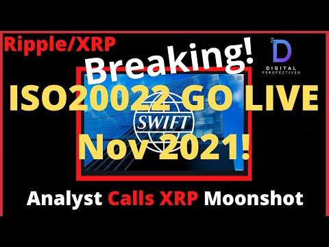Ripple/XRP-Visa,Analyst Gives Comparable For XRP Moonshot,SEC vs Ripple,SWIFT Go LIVE DATE Nov 2021