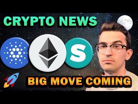 BULLISH CRYPTO NEWS!! ADA Coinbase Listing, Ethereum Layer 2, Bitcoin